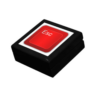 Escape Computer Button Gift Box