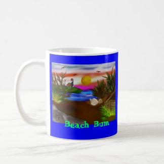 Escape de la bahía de la playa tazas