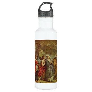 Escape de las porciones de Paul Rubens Botella De Agua De Acero Inoxidable