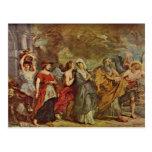 Escape de las porciones de Paul Rubens Postales