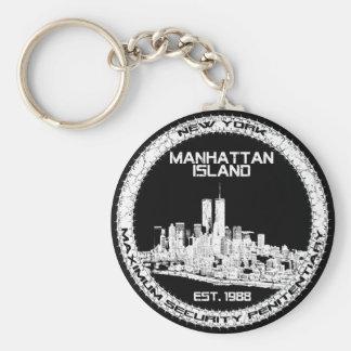 Escape From New York Basic Round Button Keychain