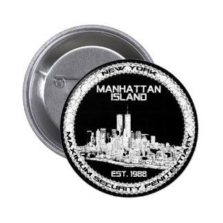 Escape From New York Pinback Button
