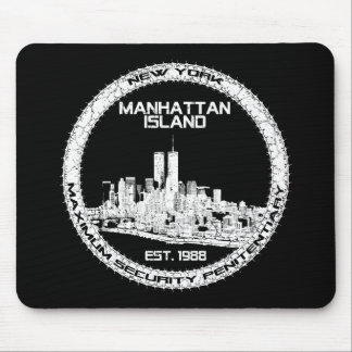 Escape From New York Mouse Pad