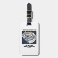 Escape From Present Walk Along Geological Time Luggage Tags