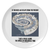 Escape From Present Walk Along Geological Time Plates