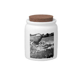 Escape from the Ark Candy Jars