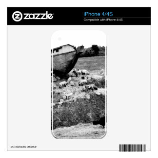 Escape from the Ark iPhone 4S Skins