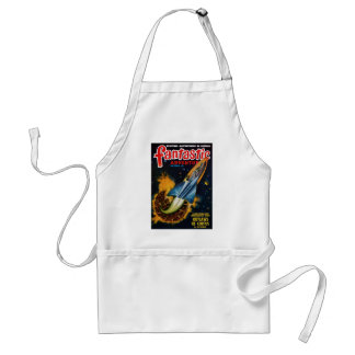 Escape from the Exploding Planet Adult Apron