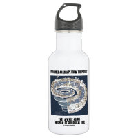 Escape From Walk Along Geological Time 18oz Water Bottle