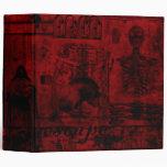 Escape Into Darkness Gothic Grunge Avery Binder