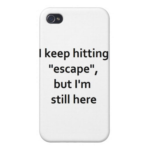 Escape iPhone 4 Protectores