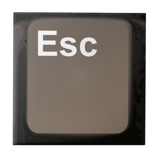 Escape Key / Button Ceramic Tile