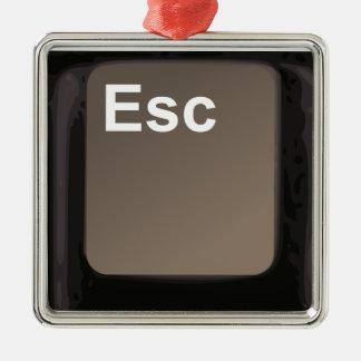 Escape Key / Button Christmas Tree Ornaments