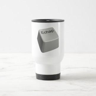 Escape key coffee mug