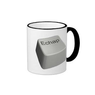 Escape key mugs