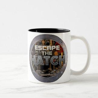 Escape la taza de la portilla