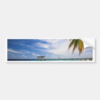Escape maldivo pegatina para auto