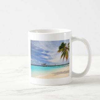 Escape maldivo taza