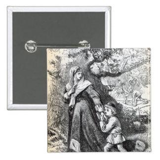 Escape of Queen Margaret Pinback Button