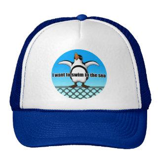 Escape penguin 3 mesh hat