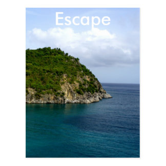 Escape Postcard