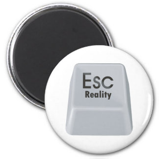 Escape Reality 2 Inch Round Magnet