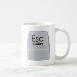 Escape Reality Classic White Coffee Mug