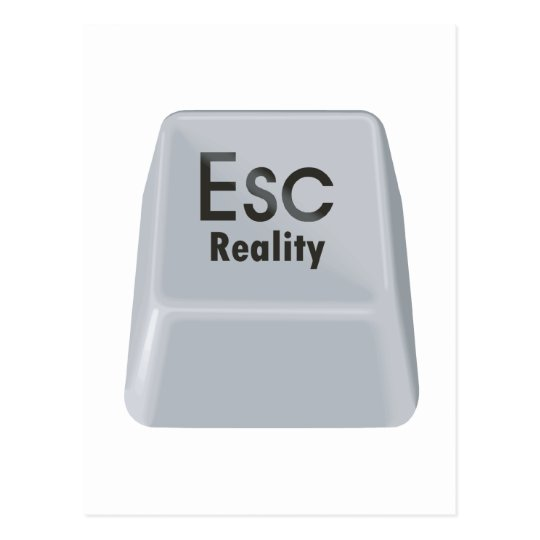 Escape Reality Postcard