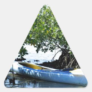 Escape Triangle Sticker