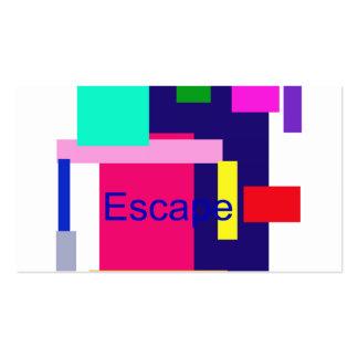 Escape Tarjetas De Visita