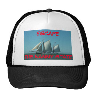 Escape The Nanny State Trucker Hat