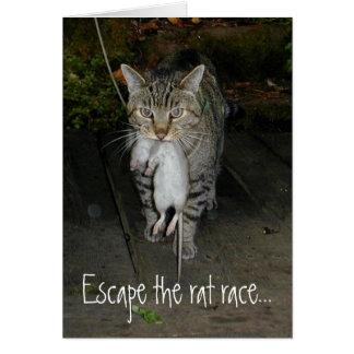 Escape the Rat Race Card