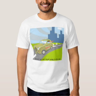 Escape the rat race while you can shirt