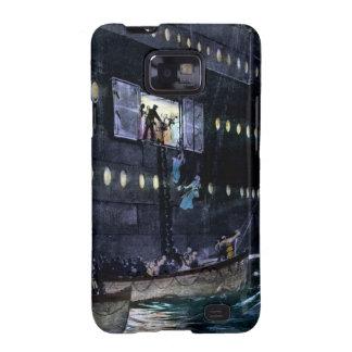 ¡Escape titánico del RMS a los botes salvavidas rá Samsung Galaxy S2 Fundas
