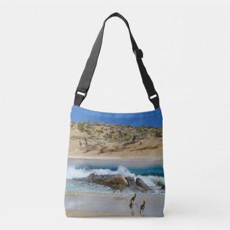Escape To Emu Island Australia, Crossbody Bag