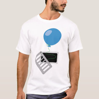 escape to freedom , balloon flying out of the vent T-Shirt