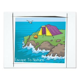 Escape to nature card