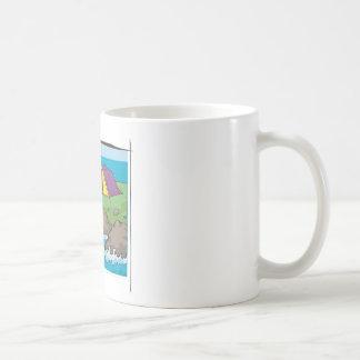 Escape to nature classic white coffee mug