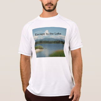 ESCAPE TO THE LAKE mens T-shirt
