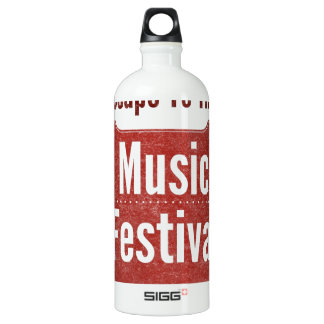 Escape To The Music Festival SIGG Traveler 1.0L Water Bottle