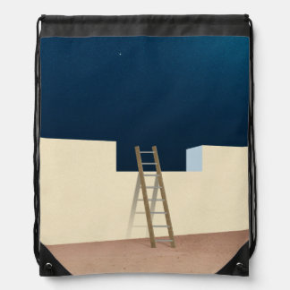 Escape To The Stars Drawstring Backpack