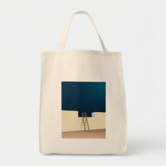 Escape To The Stars Grocery Tote Bag