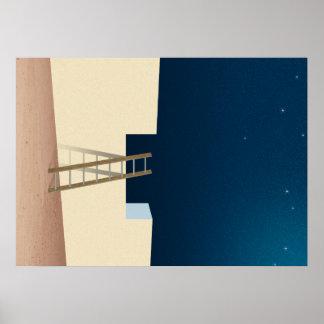 Escape To The Stars Poster