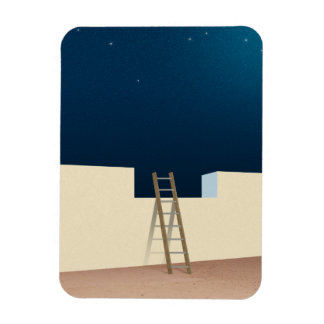 Escape To The Stars Rectangular Photo Magnet