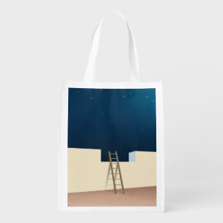 Escape To The Stars Reusable Grocery Bag
