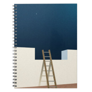 Escape To The Stars Spiral Note Books