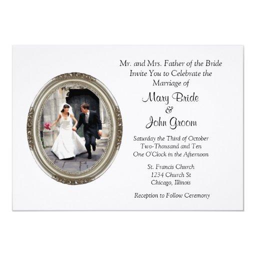 Escape Wedding Invitations