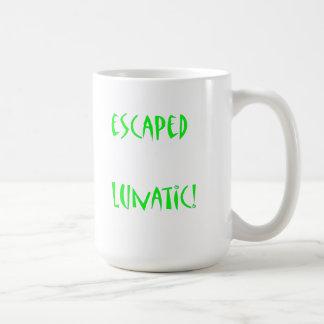 Escaped Lunatic Coffee Mug