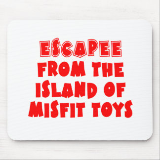 Escapee from the Island of Misfit Toys Mouse Pad