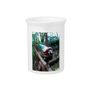Escaping the Garden Drink Pitcher